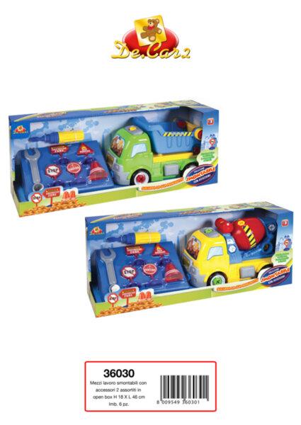 Детска играчка камион-конструктор (36030)