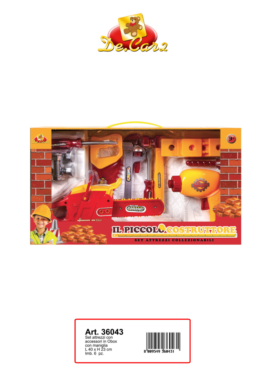 Детски комплект инструменти (36043)