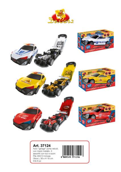 Детска играчка кола гараж (37124)