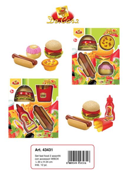 """Детски комплект за """"Бързо хранене"""" (43431)"""