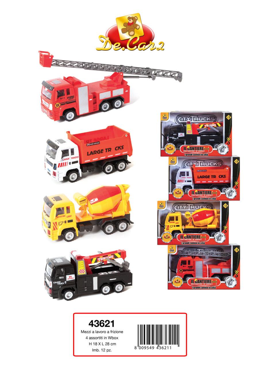 Детски градски камиони (43621)