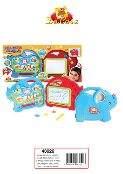 Детска дъска за рисуване куфарче (43626)