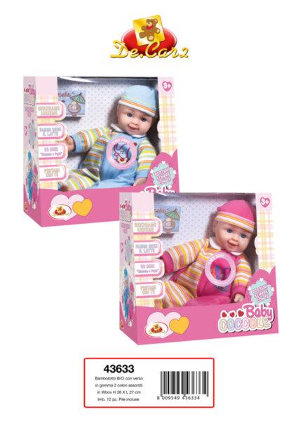Детска играчка музикално бебе (43633)