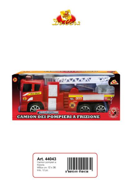 Детска пожарна кола/44043/