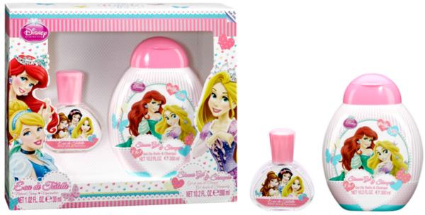 Тоалетна вода за деца PRINCESS SET EDT 30ml. + SHOWER GEL 300ml. (6136)