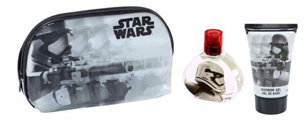 Детски парфюм и душ гел с чантичка мокри принадлежности STAR WARS TOILETRY BAG EDT 50ml. + GEL 100ml. (5967)