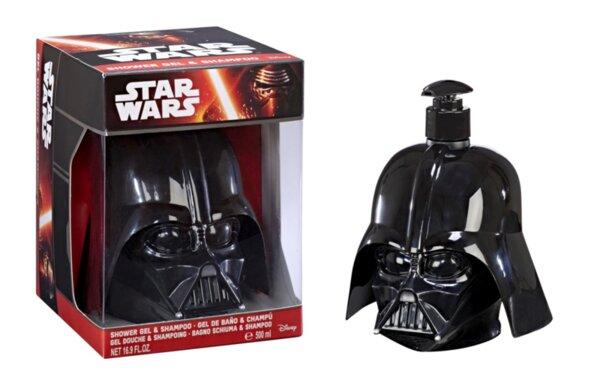 Детски комплект в кутия STAR WARS FIGURE 3D DARTH VADER SHOWER GEL и SHAMPOO 500ml. IN BOX (6629)