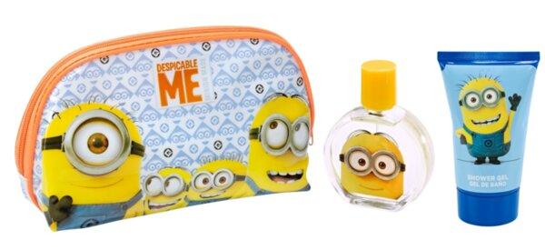 Детски парфюм и душ гел в чантичка за мокри принадлежности MINIONS TOILETRY BAG EDT 50ml. + SHOWER GEL 100ml. (6021)