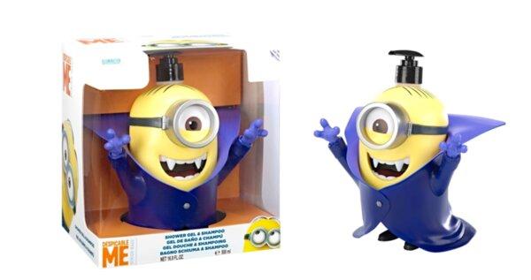 Детски шампоан и душ гел в кутия MINIONS FIGURE 3D DRACULA SHOWER GEL и SHAMPOO 500ml. IN BOX (6627)