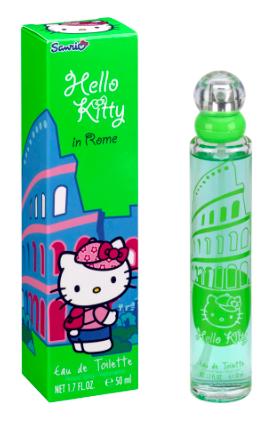 Детски парфюм HELLO KITTY ROME EDT 50ml. (5550)