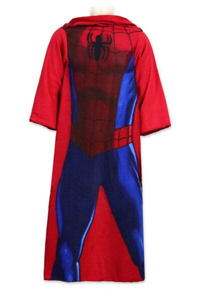 Детско поларено одеяло /тип халат/ 100x150 SPIDERMAN (720-274)