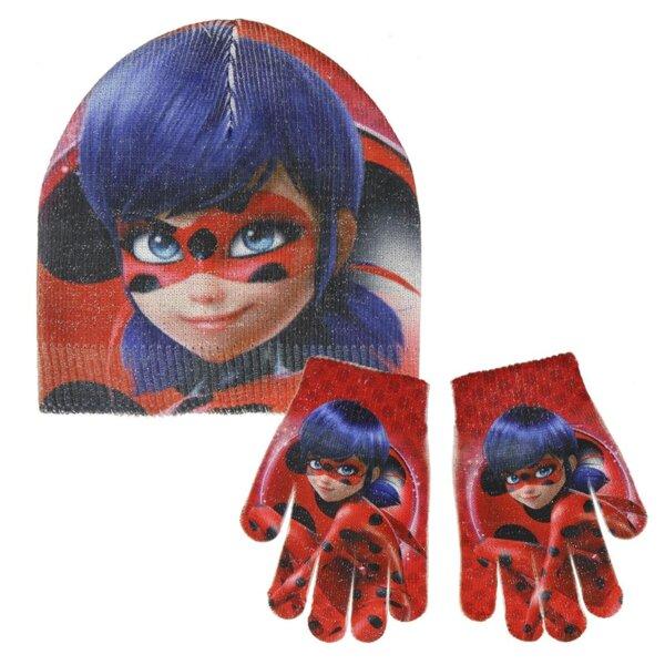Детска шапка и ръкавици LADY BUG (2575)
