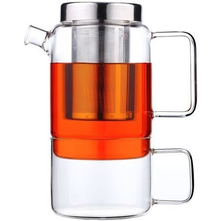 Комплект за чай BREDEMEIJER SALERNO стъклен - 0,750 л