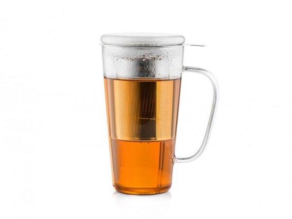 Стъклена чаша BREDEMEIJER RIMINI с филтър и капак - 0.5 л