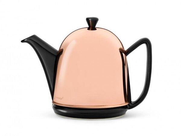 Стоманен чайник BREDEMEIJER COSY MANTO медно-черен - 1 л