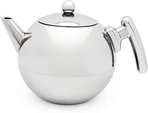 Двустенен чайник BREDEMEIJER DUET BELLA RONDE стоманен - 1.2 л