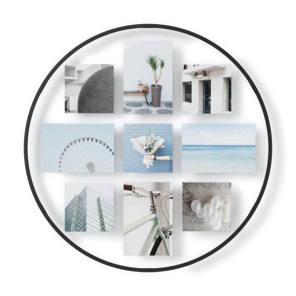 Колаж за снимки UMBRA INFINITY за стенен монтаж - черен