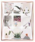 Рамка за 9 броя снимки UMBRA PRISMA GALLERY - цвят мед