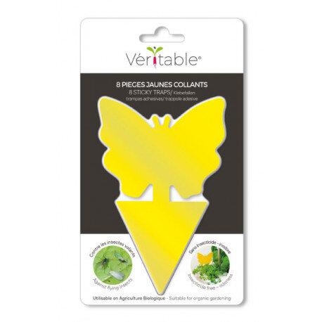 Комплект лепкави капани за насекоми VERITABLE Butterfly - 8 бр.