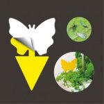 "VERITABLE Комплект лепкави капани за насекоми ""Butterfly"" - 8 бр."
