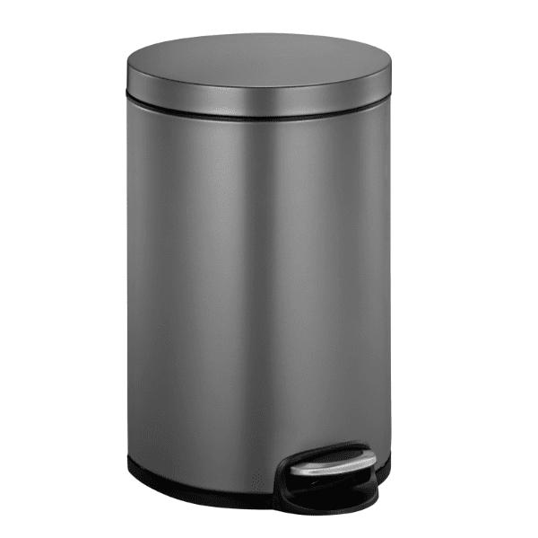 Кош за отпадъци EKO SERENE с педал (20 л) - графит
