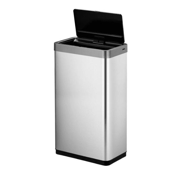 Кош за отпадъци EKO MIRAGE X сензорен (80 л) - хром мат