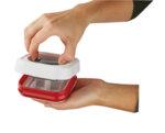 """ZYLISS Квадратна кутия за храна с херметическо затваряне """"TWIST & SEAL"""" - 2,48 л."""