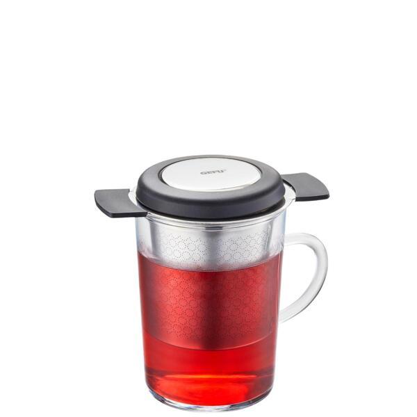 Универсален филтър за чай GEFU SAVORO с капак