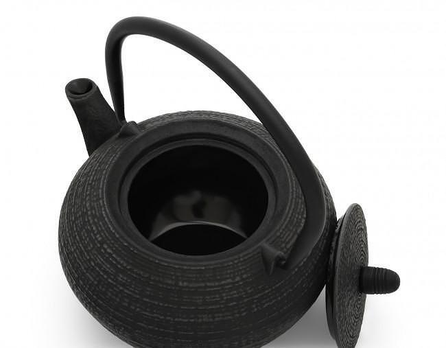"""BREDEMEIJER Чугунен чайник """"Tibet"""" - черен - 1.2 л."""