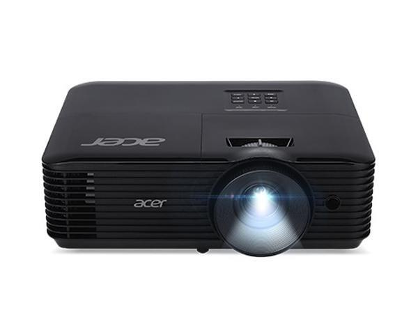 Acer Projector X1127i, DLP, SVGA (800x600), 4000Lm, 20000:1, 3D, HDMI, Wifi,  Audio in, RS232, RGB, RCA, DC Out (5V/1A),Wireless dongle included, 3W Speaker, 2.7kg, Black