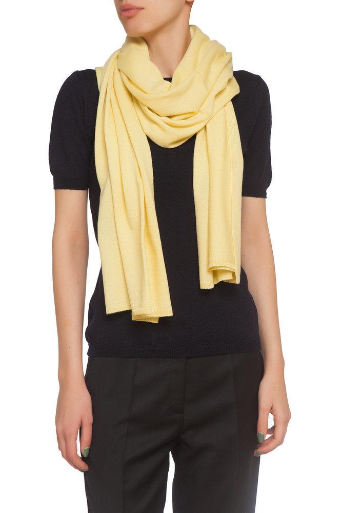 Жълт шал
