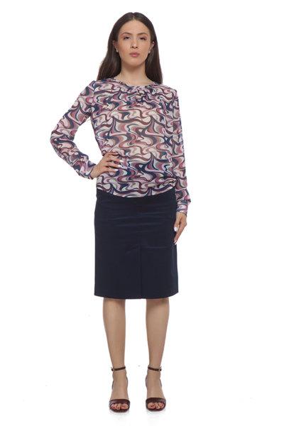 Шарена блуза