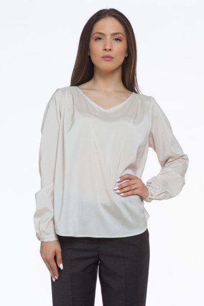 Свободна копринена блуза