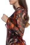 Елегантна шарена блуза