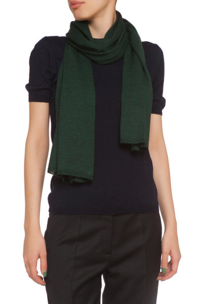 Тъмнозелен шал
