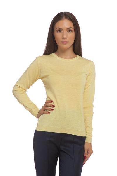 Жълта блуза мерино