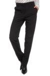 Черен вълнен класически панталон