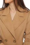 Бежово класическо палто
