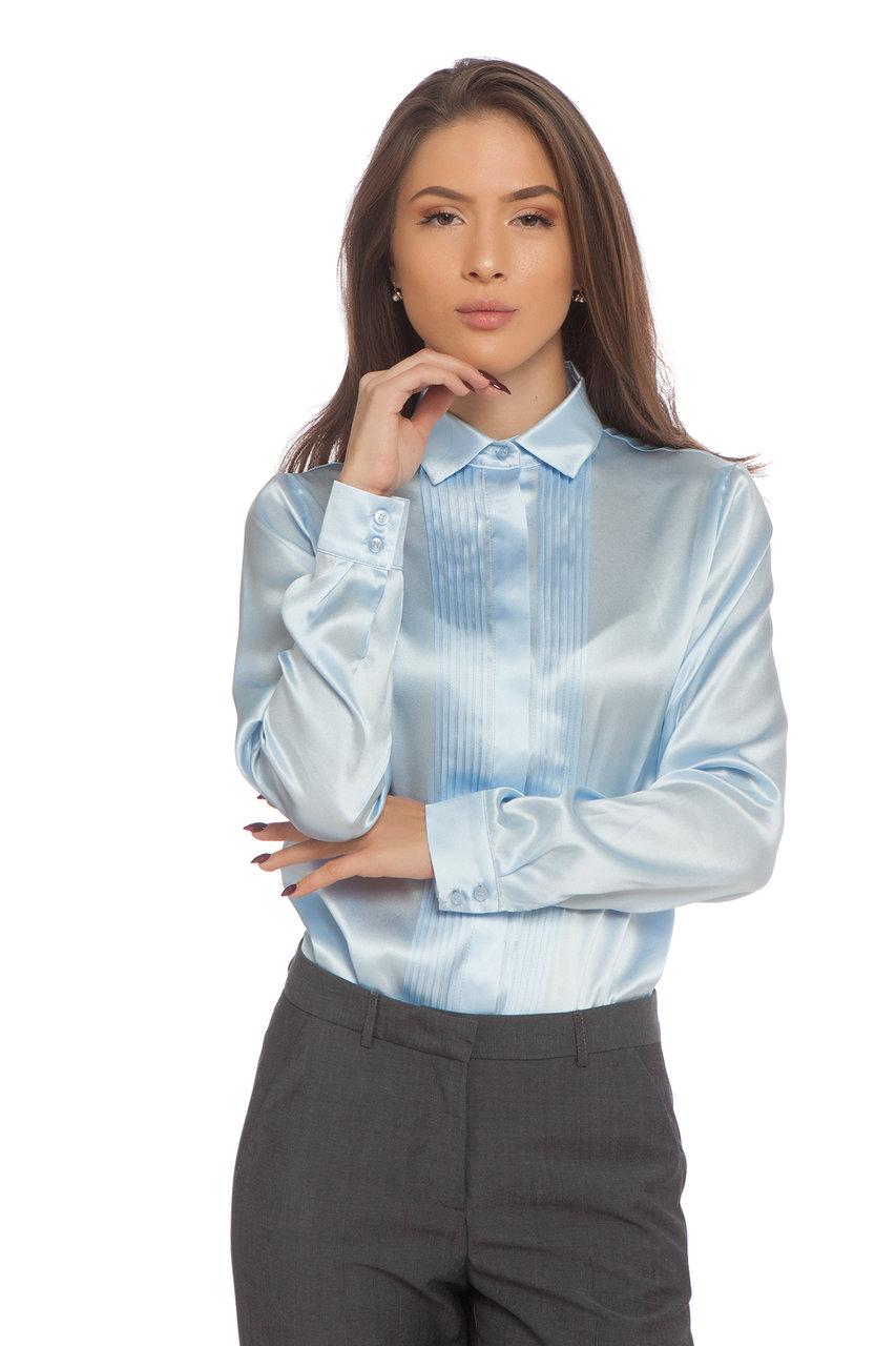 Ефирна копринена риза
