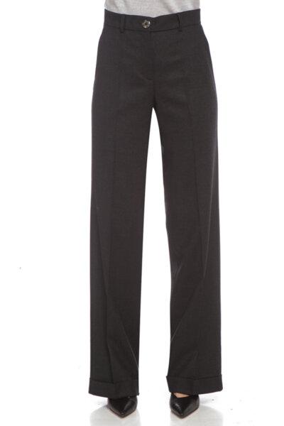 Панталон от тъмносива каша