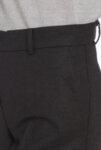 Плътен тъмносив панталон