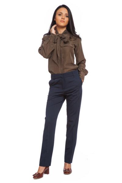 Тъмносин класически панталон