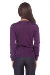 Лилава блуза с дълъг ръкав