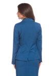 Синьо капри сако