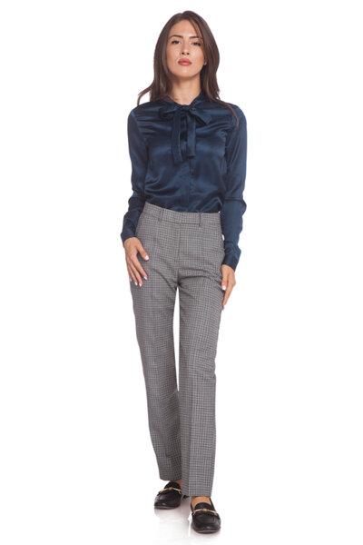 Класически кариран панталон