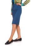 Синя капри пола
