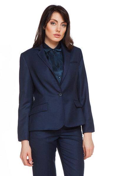 Класическо синьо сако