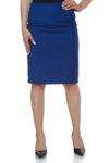 Кралско синя пола