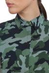 Милитъри принт блуза