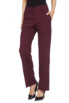 Прав бордо панталон